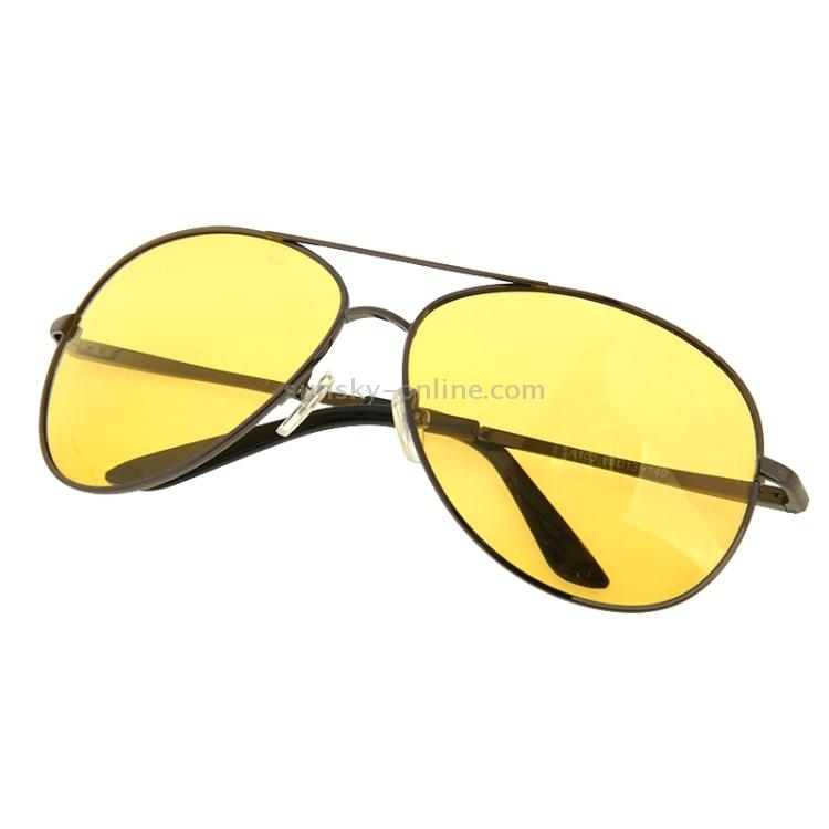 SUNSKY - Frog Mirror UV 400 Yellow Lens Night Vision ...