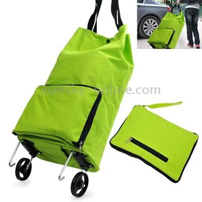 Sunsky home furnishing portable foldable trolley bag shopping bag