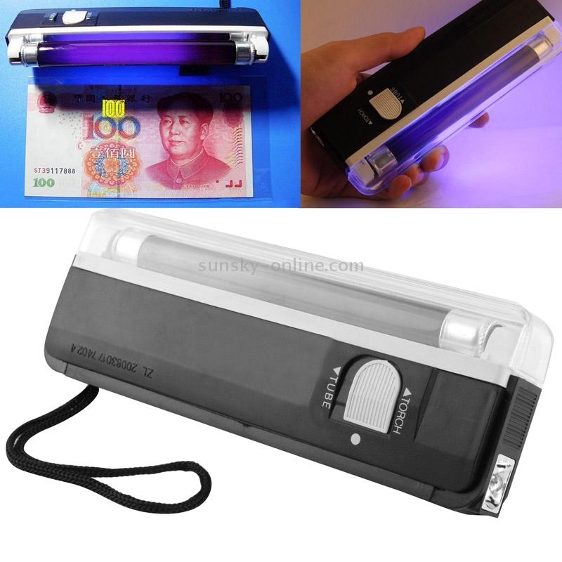 Ультрафиолетовая лампа для проверки денег своими руками