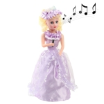 Electric little Girl with Sound, Size: 320 x 110 x 110mm (Light Purple)