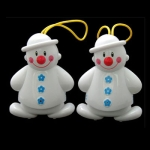 Twin Snowman Wireless Doorbell Baby Cry Detector