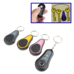 3 in 1 Wireless RF Super Electronic Finder Anti-lost Alarm Key Chain (Gray+Yellow+Pink)