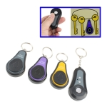 3 in 1 Wireless RF Super Electronic Finder Anti-lost Alarm Key Chain (Gray+Yellow+Purple)
