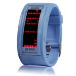 LED часы Multi (Синие)