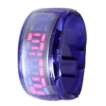 LED часы ODM Pixel design (Синие)