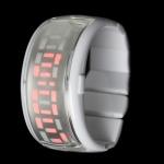 LED часы ODM Pixel Design (Белые)