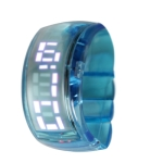 LED часы ODM Pixel Design (Голубые)