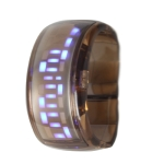 LED часы ODM Pixel Design (Коричневые)