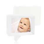 Dialog Box Photo Frame (White)