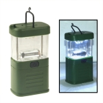 11 LED Lantern Light Lamp For Bivouac Camping Fishing (Army Green)