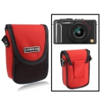 Universal Mini Digital Camera Bag, Size: 10 x 8 x 3.5cm (Red)