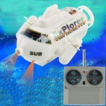 Mini RC Submarine SUB Boat Toy Remote Radio Control , Frequency: 40MHz (8836)