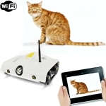 Wifi Controll Wireless Spy Tank With Photographs, Video, Camera Function, WI-FI Rover Tank (White)