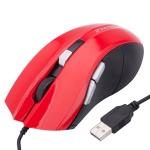 Проводная оптическая игровая USB мышь FC-1618 (Красная)