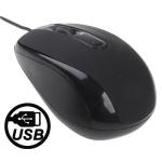 Оптическая мышь USB (Черная)