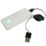 Выдвижная USB оптическая мышь