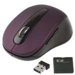 Беспроводная 4D оптическая мышь (Темно-пурпурный)