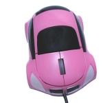 Оптическая USB мышь (Розовая)