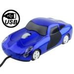 Оптическая мини - мышь USB (Синяя)