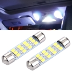 41mm Super White 12 LED Car Bulb Reading Light  (Pair)