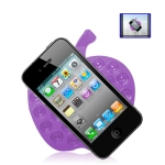 Anti-Slip Mat Super Sticky Pad for Phone / GPS / MP4 / MP3 (Purple)