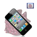 Anti-Slip Mat Super Sticky Pad for Phone / GPS / MP4 / MP3 (Pink)