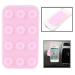 Anti-Slip Mat Super Sticky Pad for Phone / MP4 / MP3 (Pink)