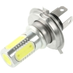 H4 7.5W White LED Fog Light for Vehicles, DC 12V-24V