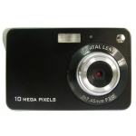 2.7 inch TFT Screen 10 Mega Pixels Digital Camera