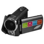 5.0 mega pixels Mini portable digital video camera with 2.4 inch TFT LCD Screen