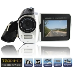 5.0 Mega Pixels Digital Camera with 2.7 inch TFT LCD Screen, 270 degree rotation HDTV 720P