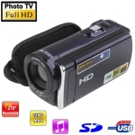 5.1 Mega Pixels Digital Video Camera with 3.0 inch TFT LCD Screen, 270 degree rotation HDTV, Mini HDMI Port , Support SD Card, Max pixels: 16 Mega pixels (Interpolation)