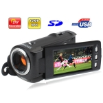 5.0 Mega Pixels Digital Camera with 3.0 inch Touch Screen, 270 degree rotation, Support Mini HDMI Port