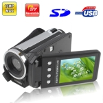 DV006A, 2.4 inch 5.0 Mega pixels 4X Zoom DV Digital Video Camera, Max pixels: 12 Mega pixels (Interpolation)