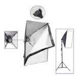 50x70cm Folding Easy Soft Box with E27 Bulb Socket / EU Plug Adapter