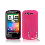 Dream Mesh Case for HTC Desire S / G12 (Magenta)