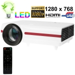 LED Multimedia Micro Projector, AV/VGA interface, Support SD Card and up to 4GB, Resolution: 800 x 600, Projection Distance: 4~5m