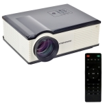 Personal Micro LED Projector with Remote Control, Built in Speaker, with HDMI / USB / VGA / TV / S-Video Interface, Support Max 32GB SD Card