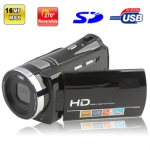 HD-W550, 5.0 Mega Pixels Digital Video Camera with 2.7 inch TFT LCD Screen, 270 degree rotation, Max pixels: 16 Mega pixels (Interpolation)
