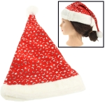 Moon and Star Pattern Christmas Hat, Size: 42x29cm