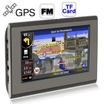 5.0 inch TFT touch Screen GPS Navigator With 4GB Memory and Map, Support TF Card, Voice Broadcast, FM Transmitter Function
