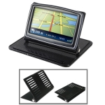 Universal GPS Holder Bracket Cradle Anti-Slip Mat (For 4.3 / 5.0 inch GPS, iPhone 4 / 3GS / 3G, MP4)