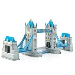3D Puzzle Tower Bridge Model Card Kit (41x)