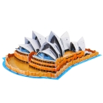 3D Puzzle Sydney Opera House Card Kit (58pcs)