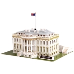 3D Puzzle The White House Model Card Kit (64pcs)