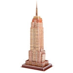 3D Puzzle American Empire State Building Model Card Kit (39pcs)