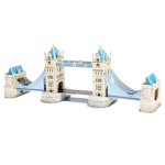 3D Puzzle Tower Bridge in London Model Card Kit (41pcs)