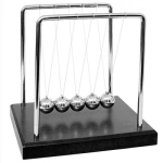 12mm Diameter Newton Cradle Plastic Base Balance Balls