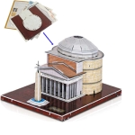 3D Puzzle Pantheon Model Card Kit (32pcs)