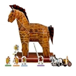 3D Jigsaw Puzzzle Trojan Horse, 97PCS